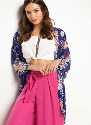 DeFacto Kimono Mavi